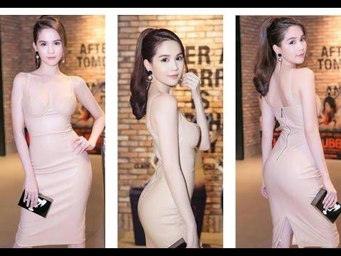 越南當紅女星鄧玉貞出席活動,五官端正身材完美!