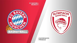 FC Bayern Munich - Olympiacos Piraeus Highlights | Turkish Airlines EuroLeague, RS Round 5