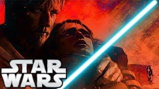 What If Obi-Wan DIDN'T Leave Anakin on Mustafar? (BIG FIGHT) - Star Wars Theory