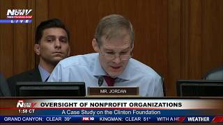MUST WATCH: Jim Jordan GOES OFF During Clinton Foundation Hearing