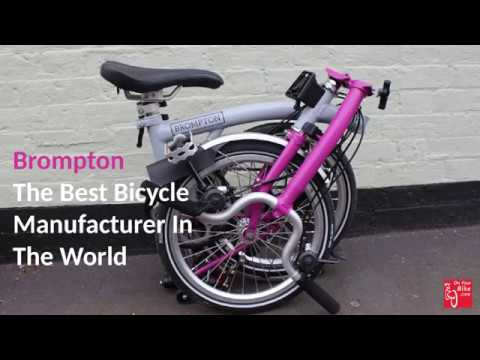 Brompton | Unknown Engineering Facts - Best Folding Cycle Brand in the World