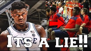 ESPN is LYING TO YOU about Zion Williamson - NBA Draft Summer league News