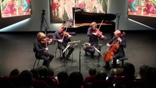 "The Danish String Quartet play's  ""Wood Works"""