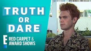 """Riverdale"" Stars Play 'Truth or Dare' at Comic-Con 2018 | E! Red Carpet & Live Events"