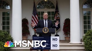 Joe: President Donald Trump Acts In Such Bad Faith | Morning Joe | MSNBC