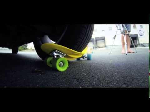 Video CHOKE SKATEBOARDS Skate mini cruiser JUICE SUSI Transparent violet