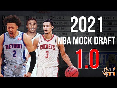 2021 NBA Mock Draft 1.0!