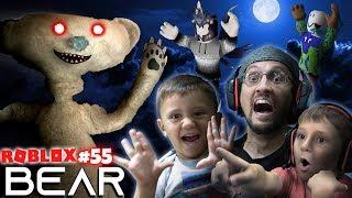 SCARY ROBLOX GAME!  BEAR CHASE! 🐻 = 🏃 FGTeeV Creepy Hide and Seek (#55)
