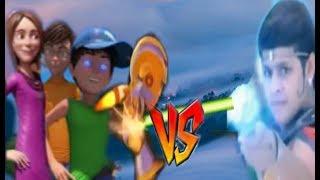 Baal veer vs Veer the robot boy & 3 bahadur movie part 01