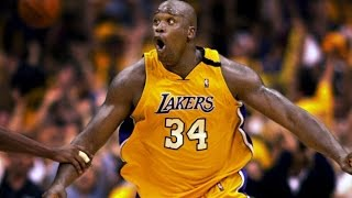 Shaquille O'Neal Top 10 Career Plays