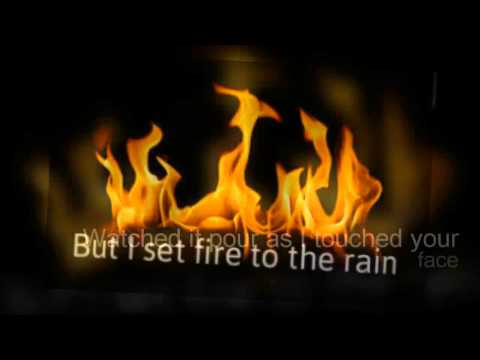 Baixar ADELE  Set Fire To The Rain LYRICS HQ