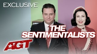 The Sentimentalists Talk About Winning Over Simon Cowell! - America's Got Talent 2019