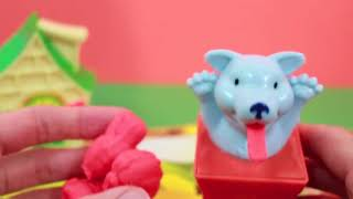 Play Doh Three Little Pigs and Big Bad Wolf Play-Doh Story Tellers DIY DisneyCarToys Play