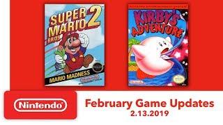 Nintendo Entertainment System - February Game Updates - Nintendo Switch Online