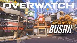 Overwatch - Busan Nuova mappa controllo