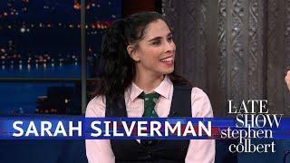 Sarah Silverman Keeps An Eye On America's Progress