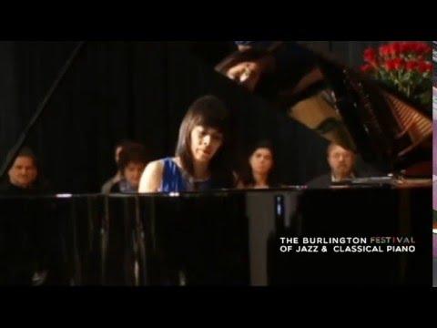 Jenny Lin - Burlington Music Festival - Bach/Busoni Chaconne in D min.