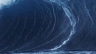 BIGGEST WAVES  SURFED IN THE HISTORY OF WORLD