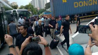 WWE Superstars Arrived Video In WWE Live Singapore 2017