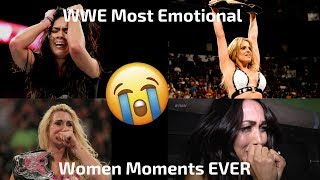 WWE Most Emotional Women's Moments EVER (This will make you cry)