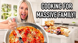 MEAL PLANNiNG and PREP FOR LARGE FAMiLY!   MOM of 16 KiDS!