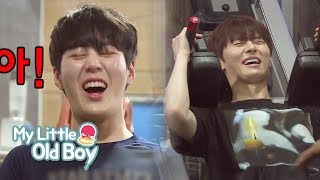 JongKook, MinHyun and SungWoon's Body Workout [My Little Old Boy Ep 79]