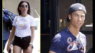 Cristiano Ronaldo & Girlfriend Georgina Rodriguez Step Out for Celebratory Lunch