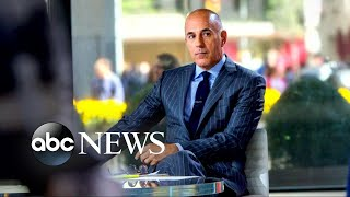 NBC facing tough questions after firing of Matt Lauer