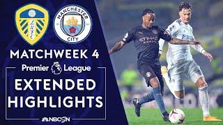 Leeds United v. Manchester City   PREMIER LEAGUE HIGHLIGHTS   10/3/2020   NBC Sports