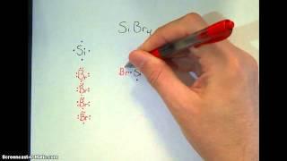 Covalent Model Kit SiBr4