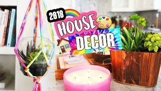 DIY HOUSE & ROOM DECOR 2018