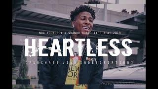 "[FREE] NBA YOUNGBOY x QUANDO RONDO TYPE BEAT 2019 ""Heartless"" @two4flex   @pyrobeats"