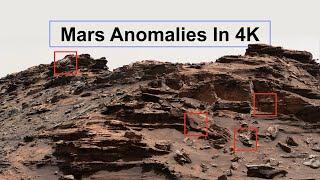 New: Mars Anomalies in 4K