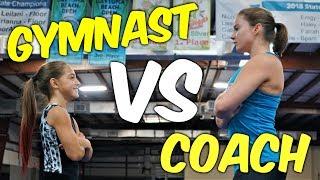 Gymnast VS Coach Gymnastics Strength Challenge| Rachel Marie