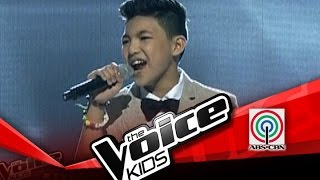 """The Voice Kids Philippines Semi Finals """"One Moment In Time"""" by Darren"""
