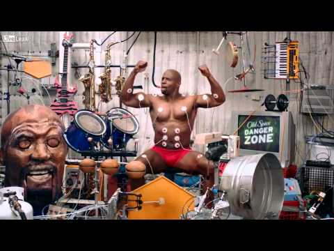 Music Muscle Workout With Terry Crews - (Old Spice) HD