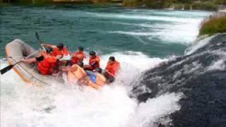 Rafting con cascadas