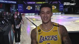 Kyle Kuzma Postgame Interview | Lakers vs Nuggets