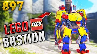 NEW BASTION LEGO SKIN IS NUTS!! | Overwatch Daily Moments Ep. 897 (Funny and Random Moments)