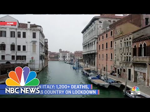 Italy Still On Lockdown After 1,200 People Die From COVID-19 | NBC News NOW