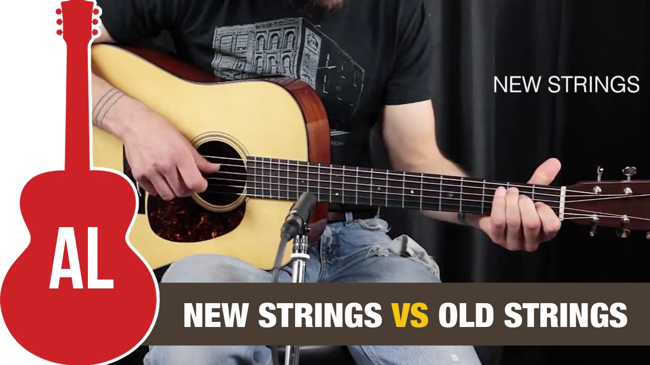old strings vs new strings can you hear the difference youtube. Black Bedroom Furniture Sets. Home Design Ideas