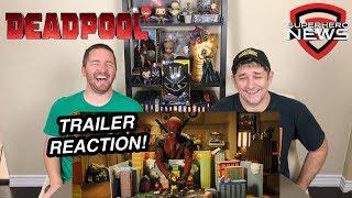Deadpool, Meet Cable Trailer Reaction - Deadpool 2