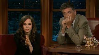 Ellen Page - She Is From Nova Scotia, New Scotland - 4/4 Visits In Chron. Order [HD]