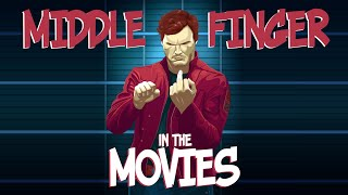 Middle finger in the movies