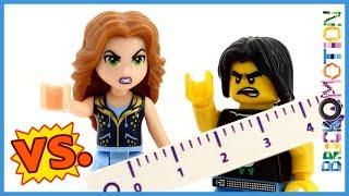 Dolls vs. Figs: Size Matters - a LEGO comparison battle