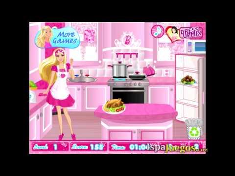 Barbie Party Cleanup juego de barbie
