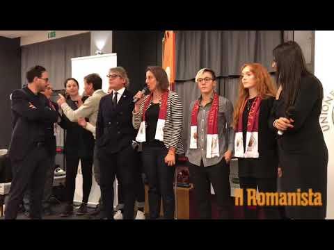 VIDEO - Roma Femminile: Pipitone, Di Criscio e Antonsdottir alla cena dell'UTR