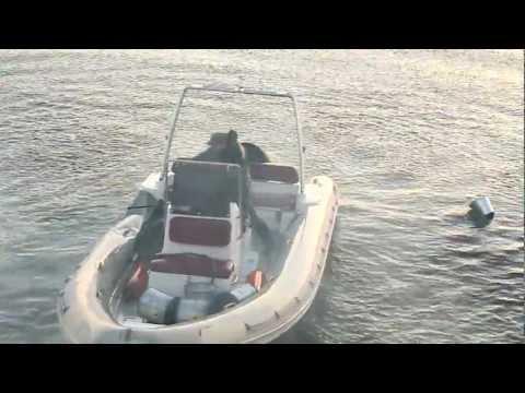 Взрыв лодки