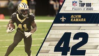 #42: Alvin Kamara (RB, Saints)   Top 100 NFL Players of 2020