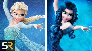 10 Disney Characters That Were Supposed To Look Totally Different